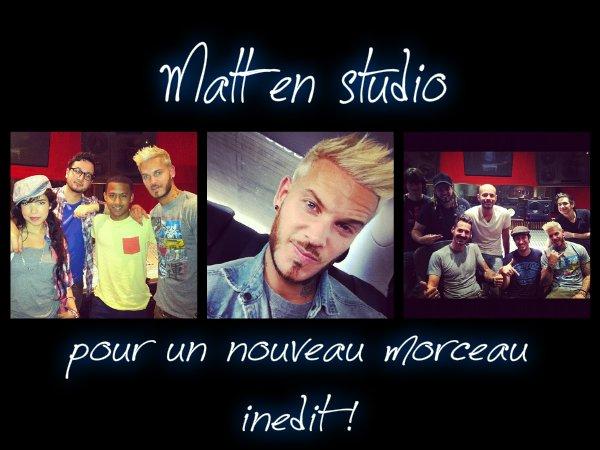 Matt en Studio !