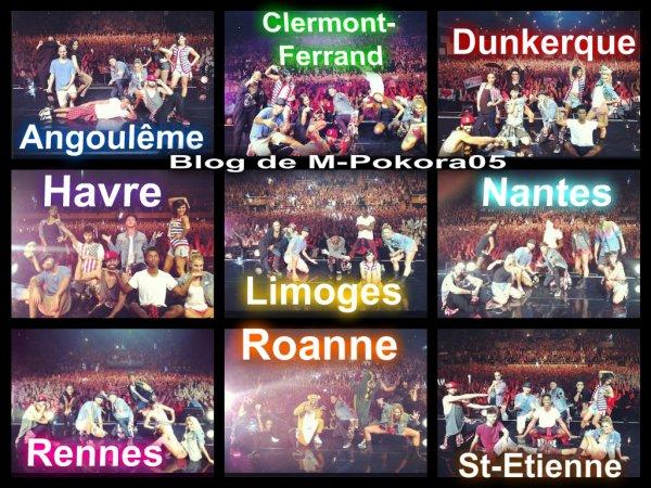 Photos souvenirs #alapoursuitedubonheurtour ♥♫♪