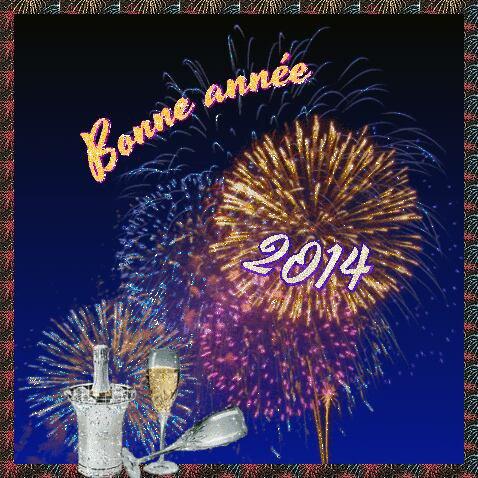 Un excellent réveillon à tous! beaucoup de bonheur et d'amour de bonnes résolutions pour l'année 2014