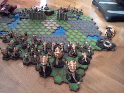 Les Armées se frittent !