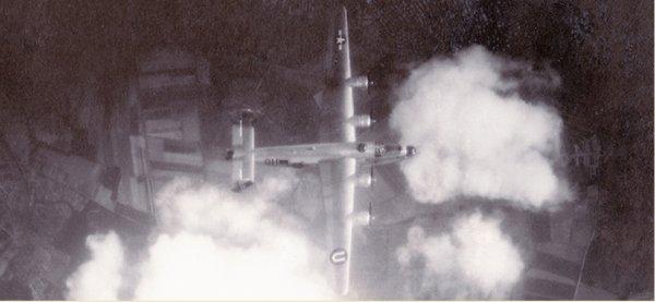 Bombardement alliée de Méry sur Oise le 2 août 1944