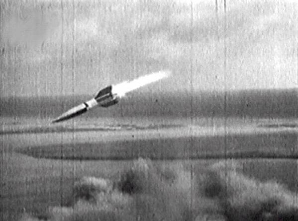 Fusée V2 A4 Transport ferroviaire et tire