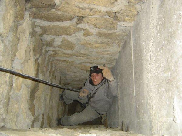 Un peut d'exercice dans la base de la cheminé