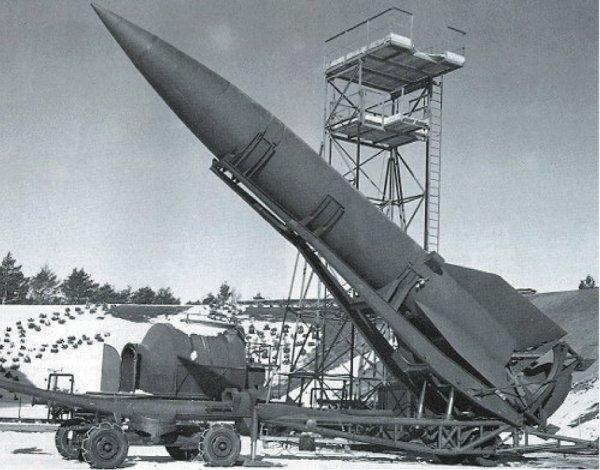 Fusée V2 déploiement