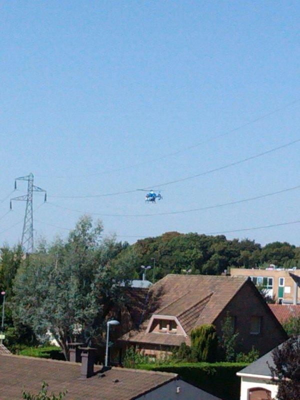 Hélicoptère de la gendarmerie