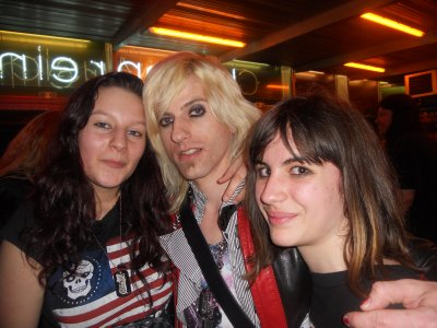 Concert fabuleux  :) Crashdiet +Hardcore Superstar + The 69 eyes