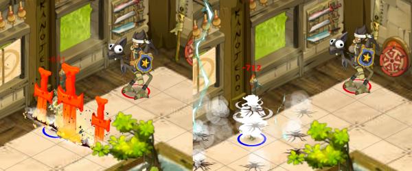 Kuro-sama , le iop bi-élément de niveau 178 !