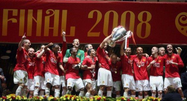 Ligue des Champions 2008 Manchester United