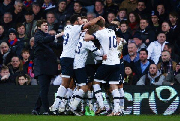 Tottenham 2éme au classement *___*