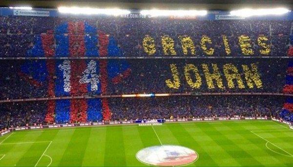 Johan Cruyff Hommage FC Barcelona