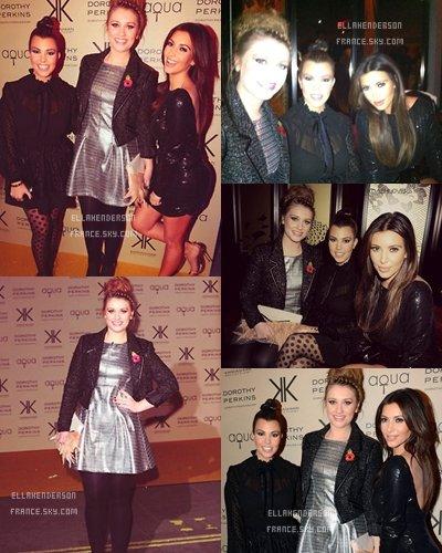 Lancement de la collection des Kardashian // Ella dans Londres.
