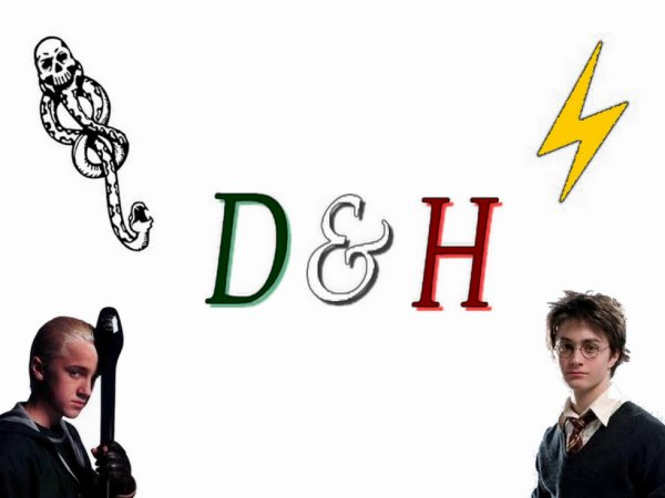 Montage 13 Harry Potter & Drago Malfoy