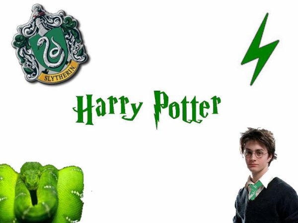 Montage 15 Harry Potter a Serpentard