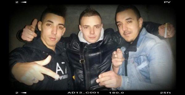 Avec les 2 frères !!