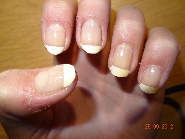 Nail Art - Au blanco (souris) !!