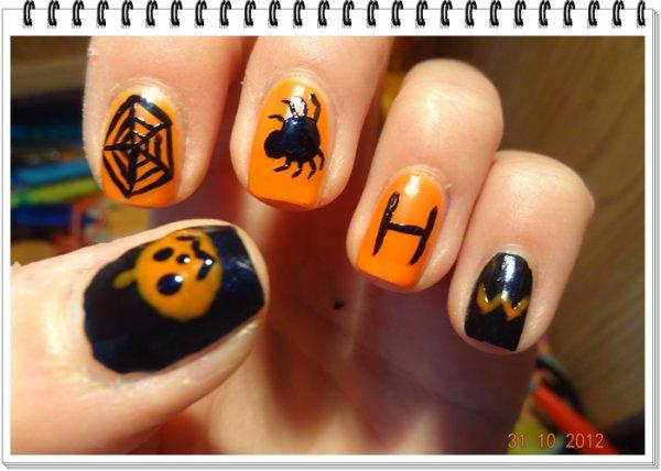 Nail Art - Spécial Halloween