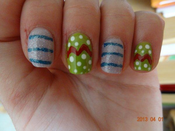 Nail Art - Pâques ^^