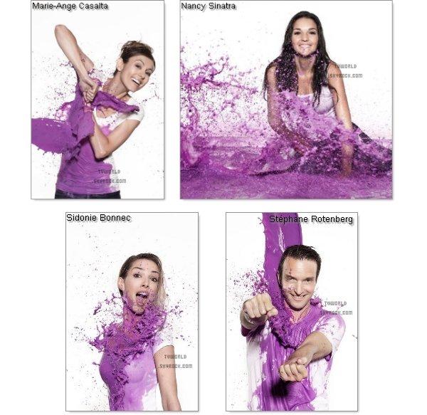 . Vivez la vie en violet.