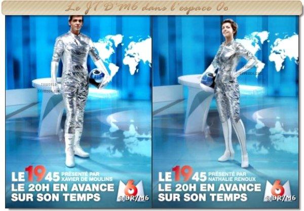 """. Le JT D'M6 dans l'espace / """"La meilleure danse""""."""