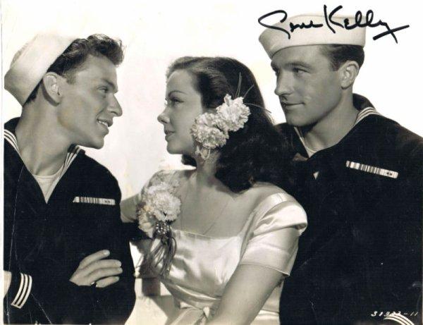 Frank Sinatra, Kathryn Grayson & Gene Kelly
