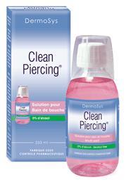 Après piercing , Hygiène et conseil