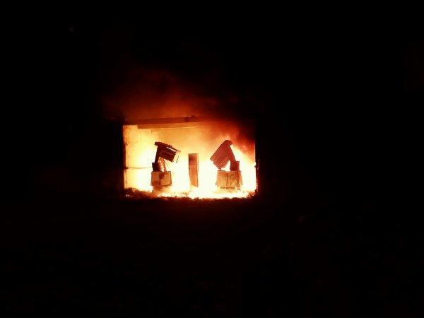 Le 16 septembre feu de pompes à essence