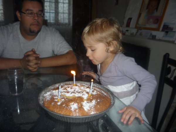 Ma fille à fêter ses 3 ans le 27 mai 2011
