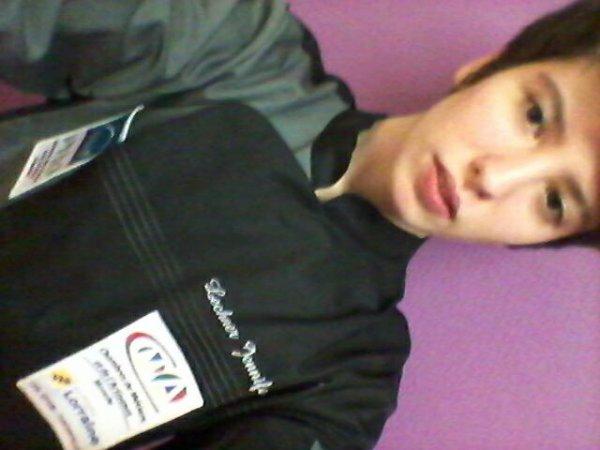 Me voici avec ma vest comme je peux être contente