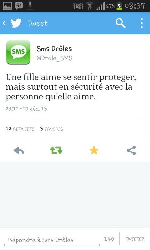 Les plus beaux tweets :) *-* ♥ ♥