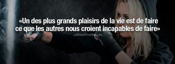 Les citations en images