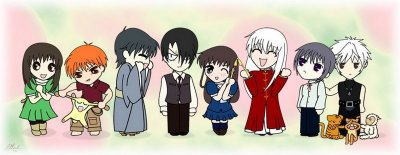 1er Manga : Fruits Basket ♥♥♥