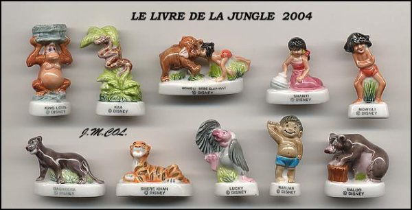 LE LIVRE DE LA JUNGLE 2004 .