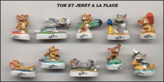 TOM ET JERRY A LA PLAGE .