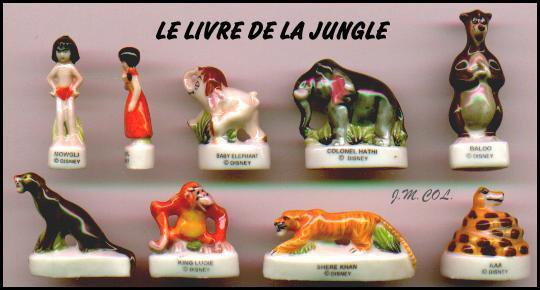 LE LIVRE DE LA JUNGLE .
