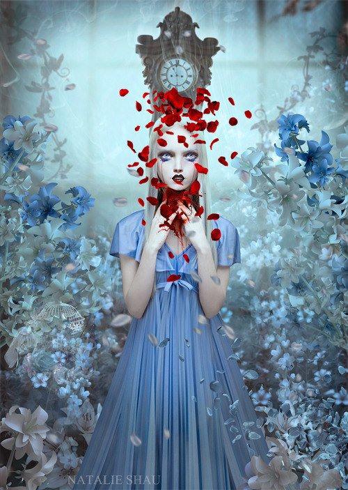 Femme au chveux rouge