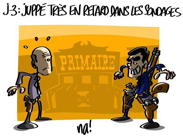 """Spécial """"FILLON VS JUPPÉ - DUEL À MORT"""" - Image n° 2/2 !..."""
