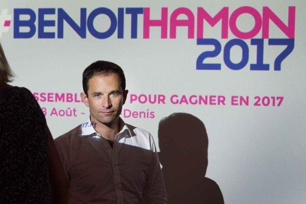 """Spécial """"En meeting à Paris, Hamon « monte en puissance »"""" - Image 1/2 !..."""