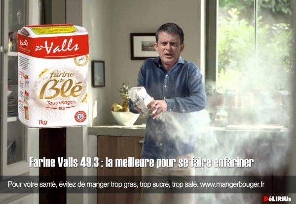 """Spécial """"Manuel Valls enfariné à Strasbourg par un opposant au 49-3"""" - Image 4/4 !..."""