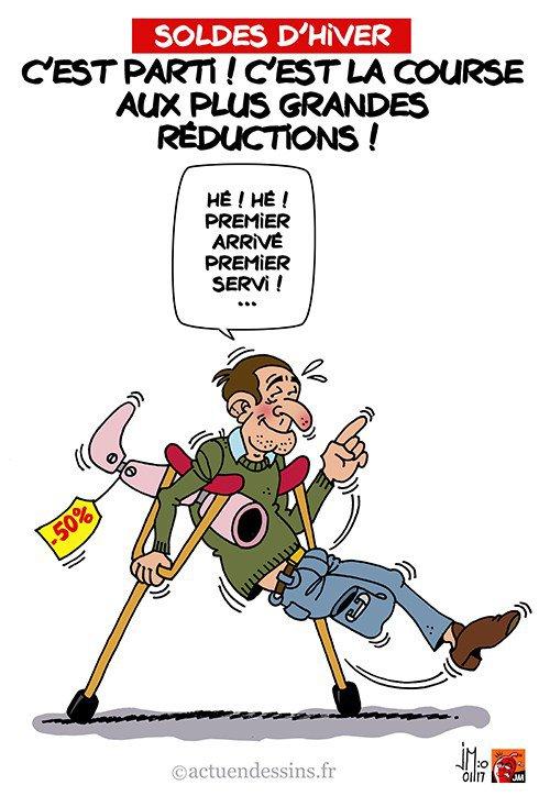 """Spécial """"Soldes d'hiver : c'est parti !"""" - Image n° 2/2 !..."""