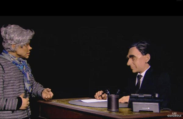 """Spécial """"Capture d'écran des Guignols de Canal+.du 26/01..."""" - Image n° 2/2 !..."""