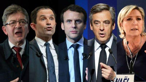 """Spécial """"1er débat TV pour 5 candidats à la Présidentielle..."""" - Image n° 1/2 !..."""
