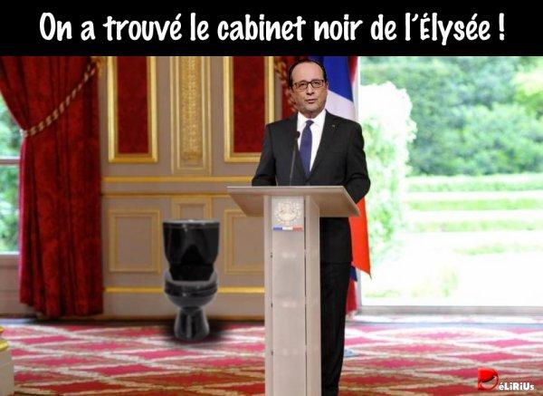 """Spécial """"« Scandale d'Etat » : Fillon accuse Hollande d'animer un « cabinet noi r»..."""" - Image n° 2/2 !..."""