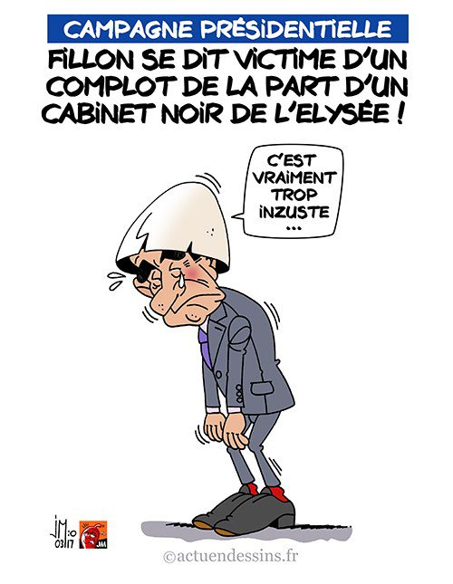 """Spécial """"Fillon accuse l'Elysée d'un complot..."""" - Image n° 2/2 !..."""