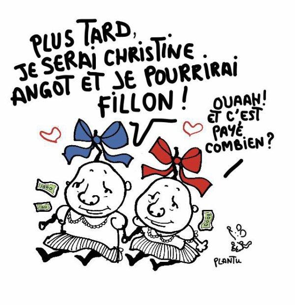 """Spécial """"Spécial """"Violent clash entre François Fillon et la romancière Christine Angot sur le plateau de """"L'Emission politique""""..."""" - Image n° 3/3 !..."""