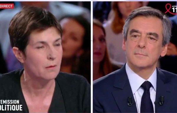 """Spécial """"Violent clash entre François Fillon et la romancière Christine Angot sur le plateau de """"L'Emission politique""""..."""" - Image n° 1/3 !..."""