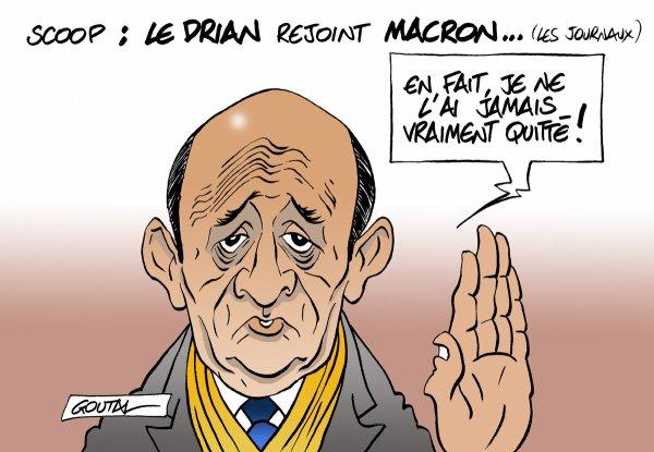 "Spécial ""Jean-Yves Le Drian rejoint Emmanuel Macron..."" - Image n° 2/2 !..."