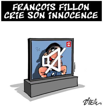 "Spécial ""FRANÇOIS FILLON CRIE SON INNOCENCE..."" - Image n° 2/2 !..."