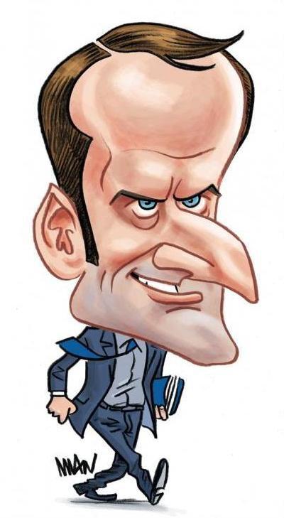 """Spécial """"Caricatures d'Emmanuel Macron..."""" - Dessin n° 1/2. !..."""