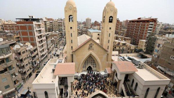 """Spécial """"Les chrétiens d'Egypte fauchés par deux attentats du groupe EI.."""" - Image n° 1/2 !..."""