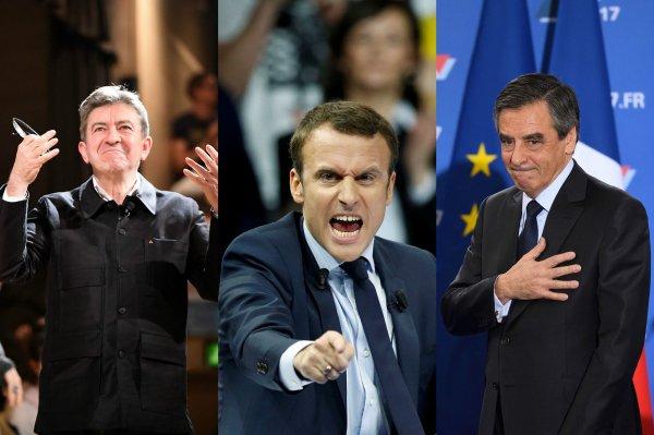 """Spécial """"Mélenchon, Macron, Fillon… comme des chiffonniers..."""" - Image n° 1/2 !..."""